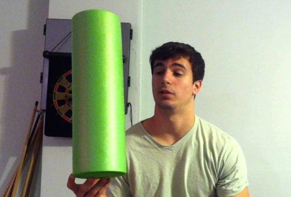 Roller foam - errori di utilizzo più frequenti
