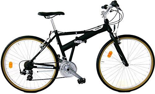 """Mountain bike pieghevole, modello """"Coppi"""" con ruote da 26"""" e telaio in alluminio"""