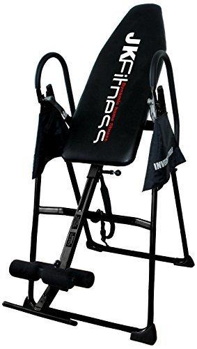 La panca ad inversione JK Fitness 6010 è un attrezzo per l'home fitness che consente di svolgere esercizi di inversione e di essere comodamente ripiegata e riposta quando non viene utilizzata.