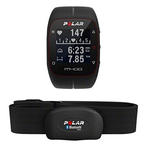 Cardiofrequenzimetro Polar M400 con Gps e fascia cardio bluetooth. Lo puoi acquistare su Amazon.it
