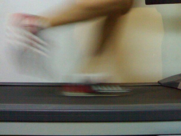 allenamento con il tapis roulant