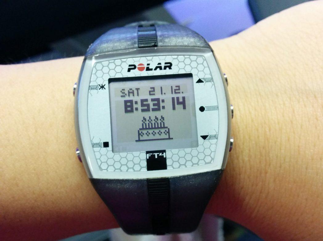 cardiofrequenzimetro polar ft4