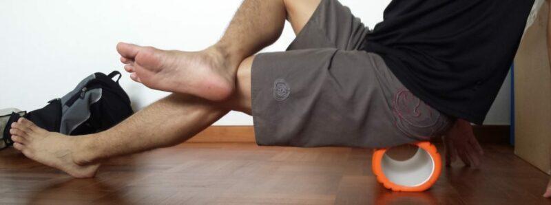 foam roller schiena