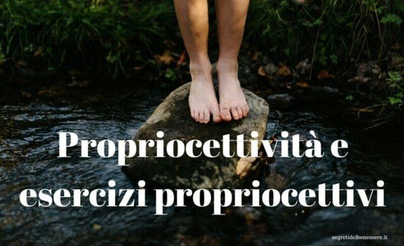 Propriocettivita e esercizi propriocettivi